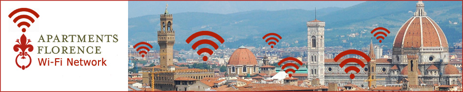 Apartments Florence Free Wi-Fi Network